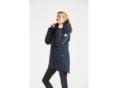 Didriksons Tanja Womens Parka - Vandtæt damejakke m. for - Navy