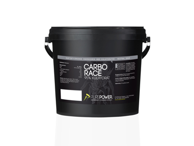 PurePower - Carbo Race - Energidryck - Neutral - 3 kg