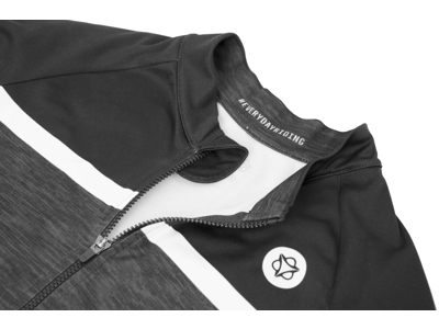 AGU Jersey LS Essential Blend - Dame cykeltrøje - Sort/Grå