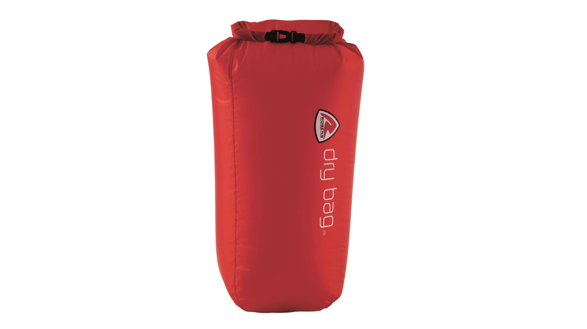 Robens - Vandtæt dry bag - 20 liter - Rød   Travel bags