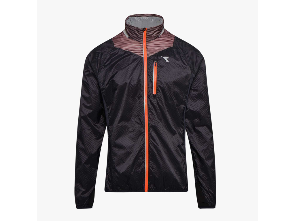 Image of   Diadora - Bright Jacket - Vindtæt løbejakke - Herre - Sort - Str. XL