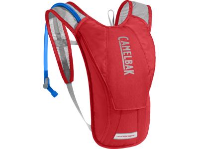 Camelbak Hydrobak - Ryggsäck 1,5 L med 1,5 L vattenbehållare - Racing Red/Silver