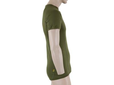 Sensor Merino Active - Ull kortärmad T-shirt - Män - Grön