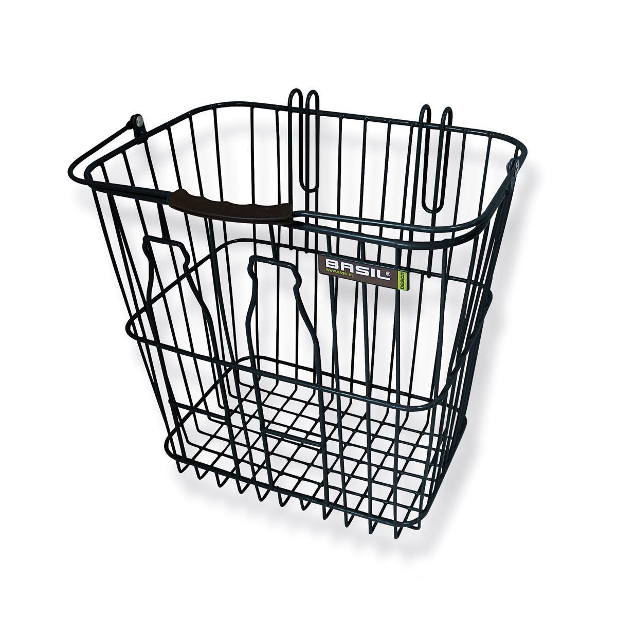 Basil Memories Bottle Basket - Cykelkurv - Sort | Bike baskets