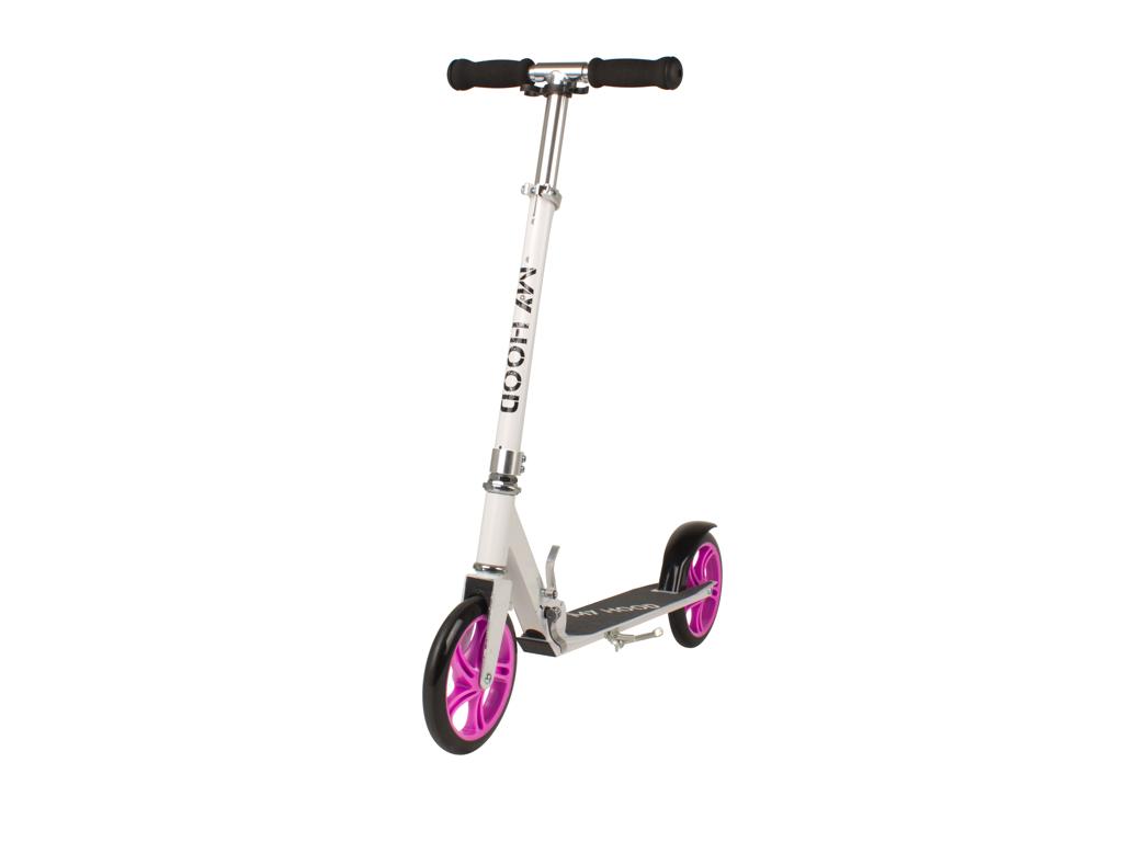 Image of   My Hood 200 - Løbehjul til børn og voksne - Hvid/Pink