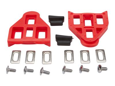 Look klamper - Delta type - Rød - Inkl. skruer og beslag