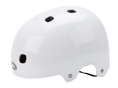Bell Segment cykel- og skaterhjelm - Blank hvid