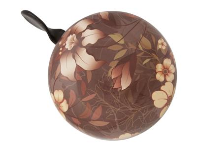 Atredo - Ringklocka - Blommor - Brun