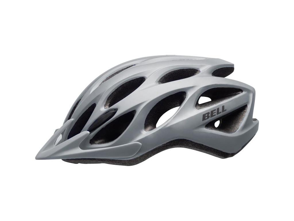 Bell Tracker - Cykelhjelm - Str. 54-61 cm - Mat Sølv thumbnail