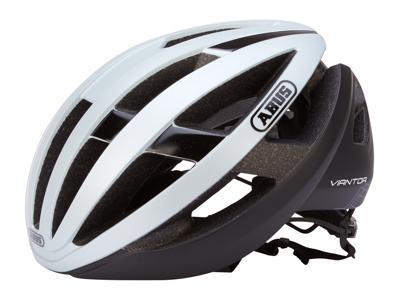 Abus Viantor - Cykelhjelm - Sølv/sort