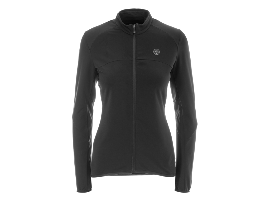 Image of   AGU Shirt LS Essential Thermo - Dame cykeltrøje - Sort - Str. L