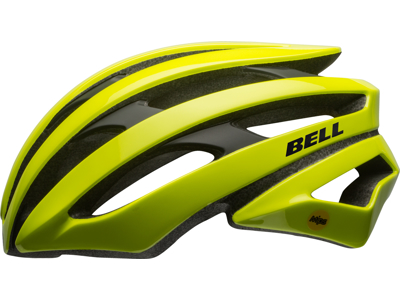 Bell Stratus Mips - Cykelhjelm - Neon gul/Sort