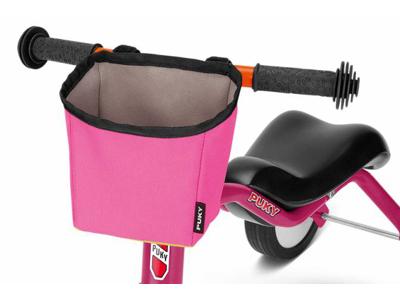 Puky - LT 3 - Taske til styr - Pukylino, Wutsch & Fitsch - Pink