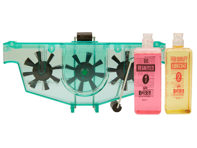Barbieri - Kedjetvätt med degreaser och olja