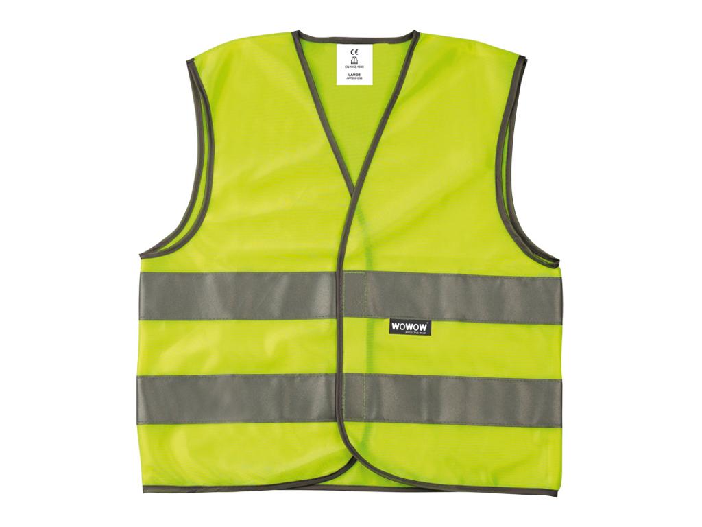 Image of   Wowow - Sikkerhedsvest med reflekser til børn - 3-6 år