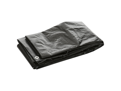 Trespass Faulken - Ground sheet - Presenning - Sort - 3,65 x 2,4 meter