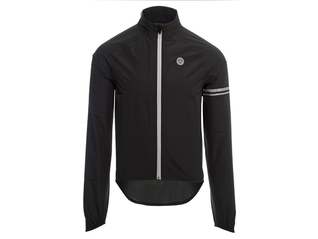 Image of   AGU Jacket Essential Rain - Cykelregnjakke - Sort - Str. L