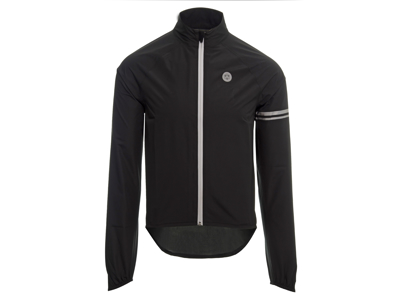 AGU Jacket Essential Rain - Cykelregnjakke - Sort