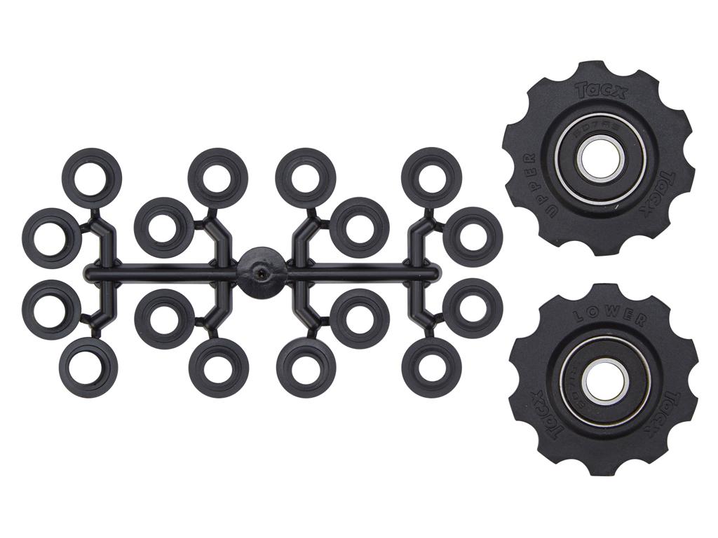 Image of   Tacx pulleyhjul med 10 tænder - Med maskinlejer