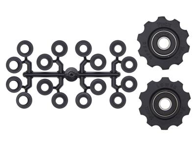 Tacx pulleyhjul med 10 tænder - Med maskinlejer