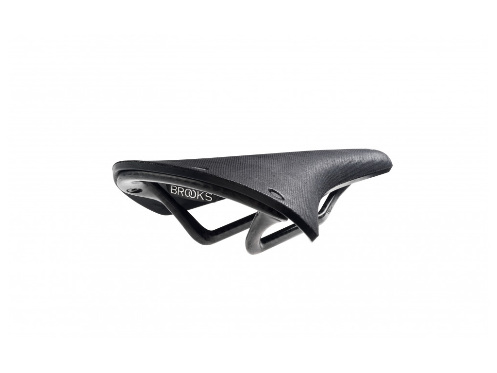 Image of   Brooks cykelsadel - Cambium Carbon C13 - Sort - Herre
