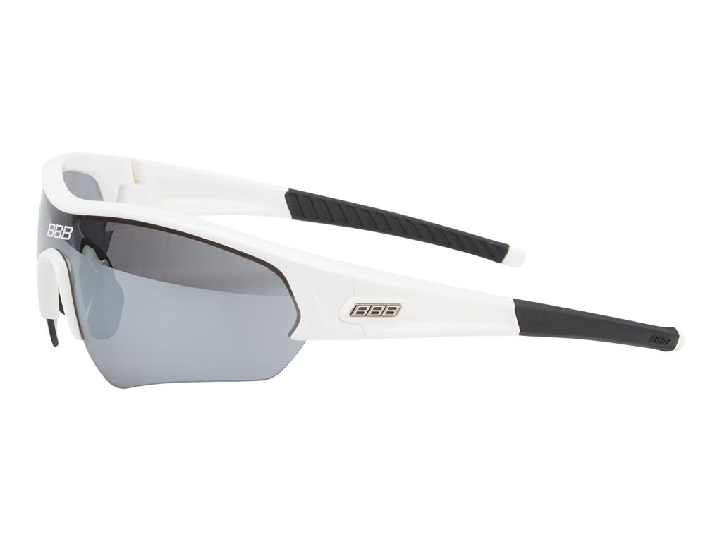 Image of   BBB - Løbe- og cykelbrille Select med 14 dele - Hvid