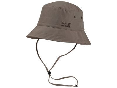 Jack Wolfskin Supplex Sun hat - Unisex - Khakibrun