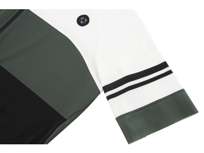 AGU Jersey SS Bloc - Cykeltrøje - Sort/Grå/Hvid