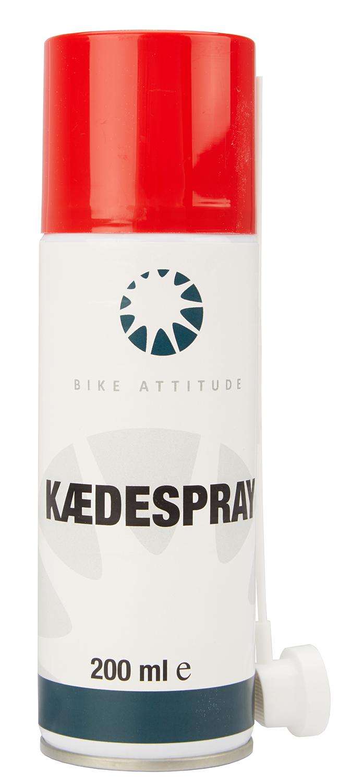 Bike Attitude - Kædespray - 200 ml - Transparent   polish_and_lubricant_component