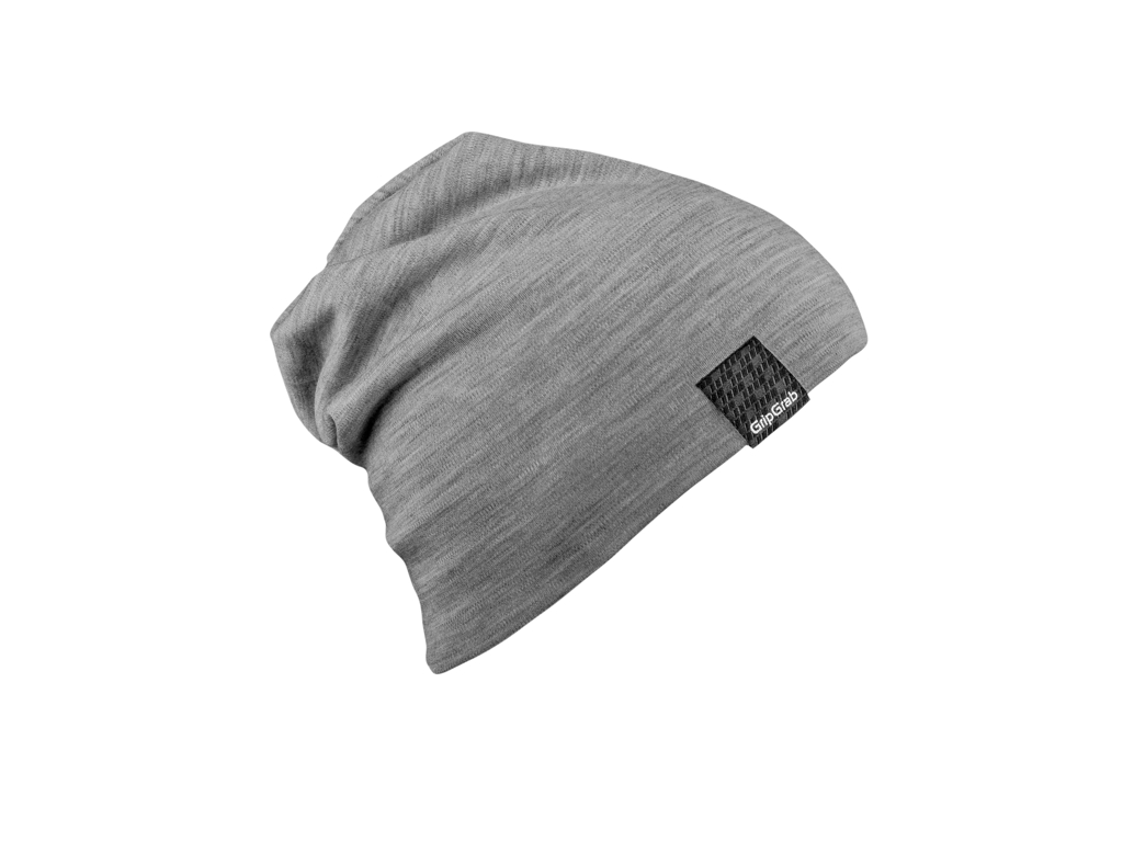Image of   GripGrab Midweight Merino Beanie - Hue - Grå - One Size