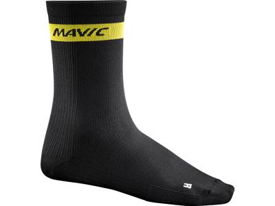 Mavic Cosmic High Sock - Cykelstrømper - Sort