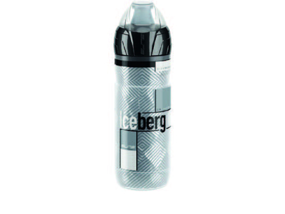Elite Iceberg - Drikkeflaske Thermo 650ml  - Klar med grå grafik
