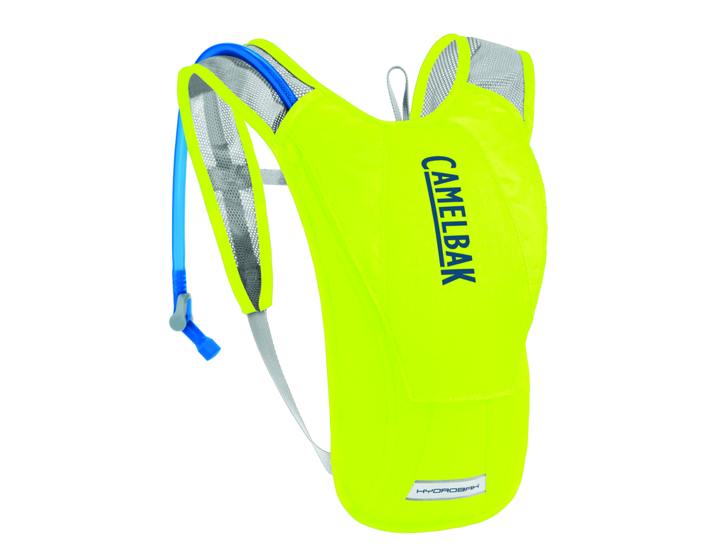 Image of   Camelbak Hydrobak - Rygsæk 1,5 L med 1,5 L vandreservior - Safety Yellow