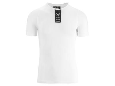 Assos Skinfoil SS Summer Base Layer - Sweatshirt - Vit
