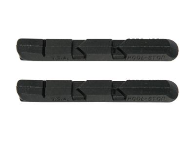 Kool Stop V-Type Black - Bremsegummi - Til V-bremser - Aluminiums fælge