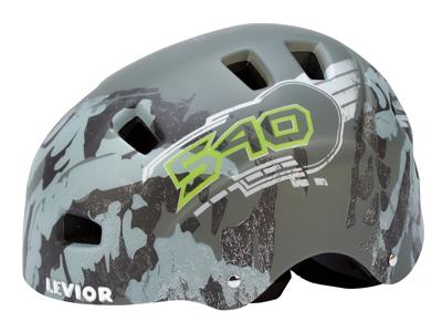 Levior cykel- og skaterhjelm 5Forty - Mat grå