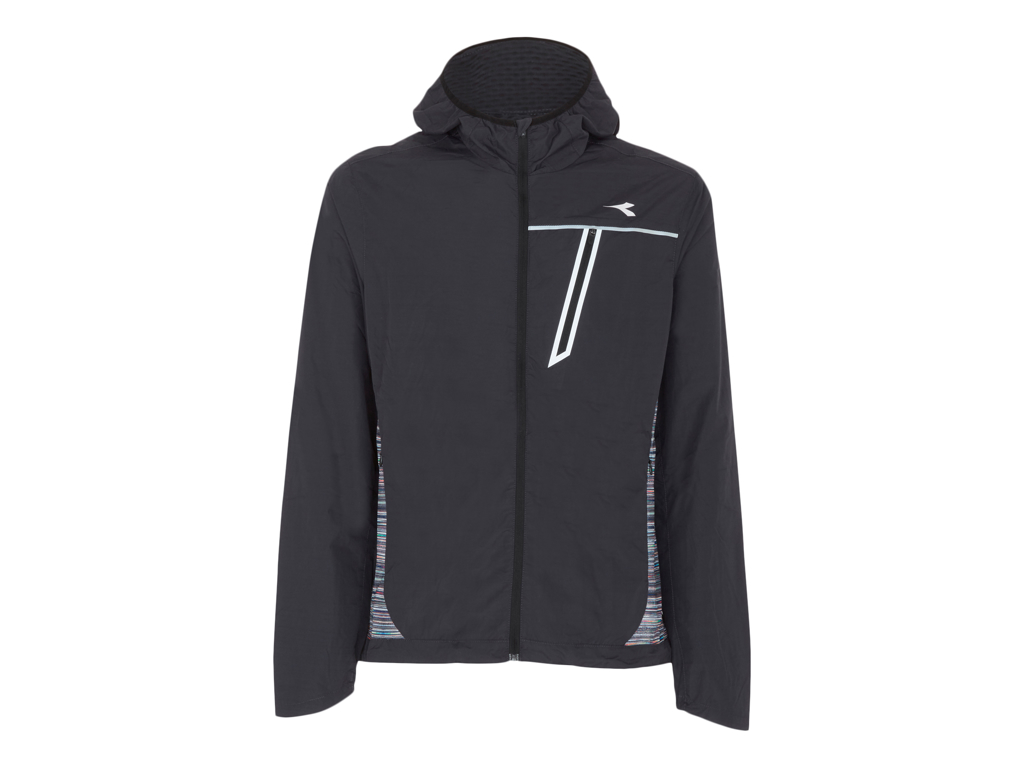 Image of   Diadora - Wind Jacket - Løbejakke - Herre - Sort