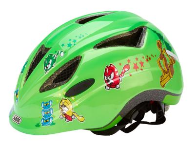Abus Anuky - Børnecykelhjelm - Grøn katapult