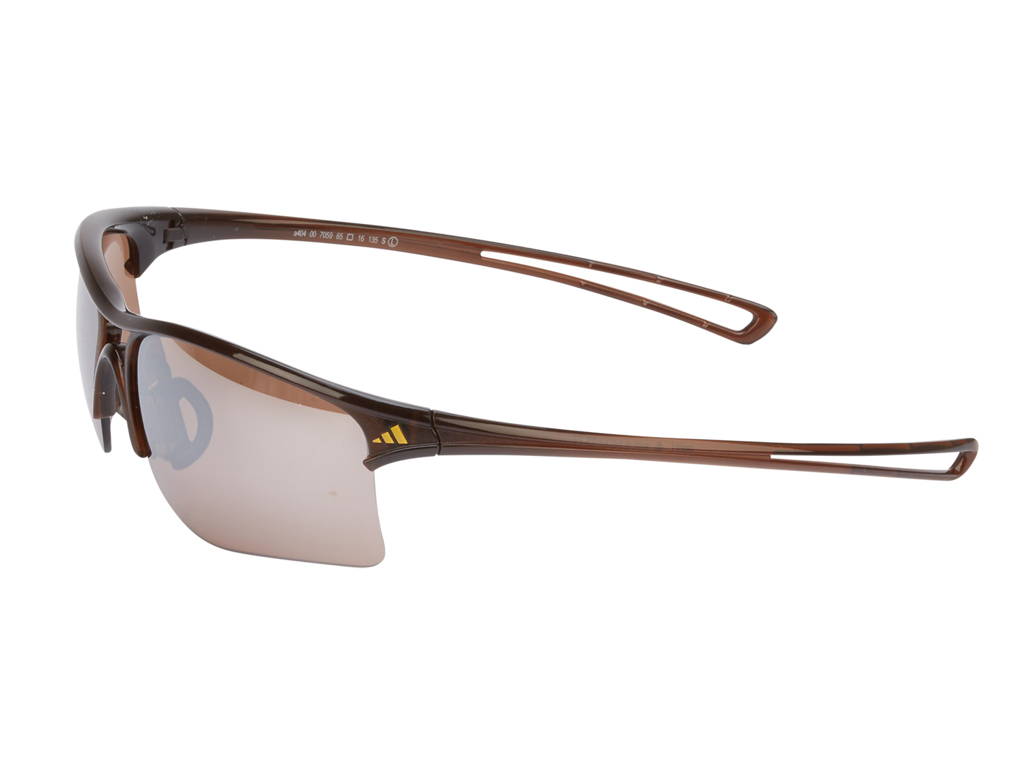 Image of   Adidas - Raylor - Løbe- og Cykelbrille - Str. Small- Shiny Brown/Contrast