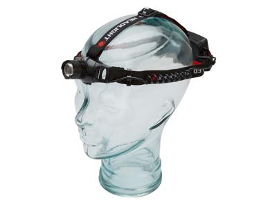 Atredo - Pannlampa - 250 lumen - Uppladdningsbar - Aluminium - Svart