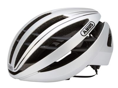 Abus Aventor - Cykelhjelm - Sølv - Str. 54-58cm