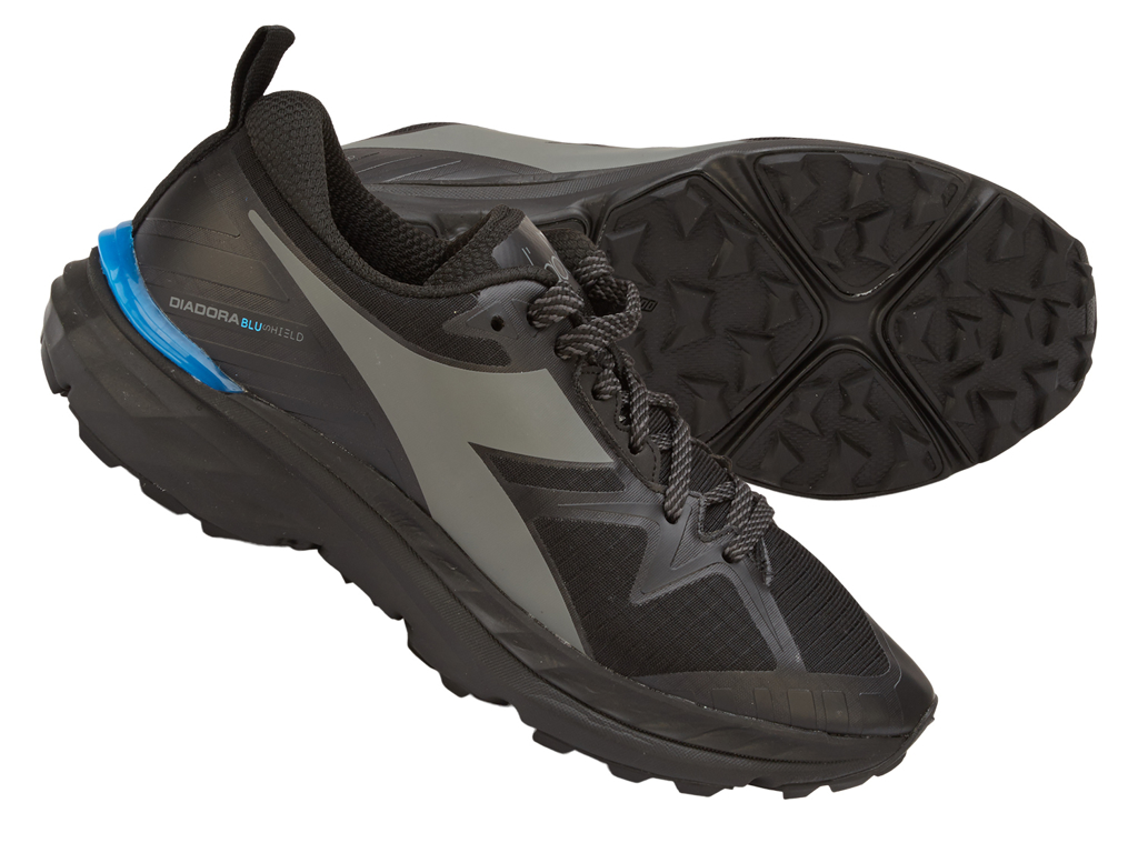 Diadora - Mythos Blushield Trail - Dame - Str. 41 - Sort/Grå thumbnail