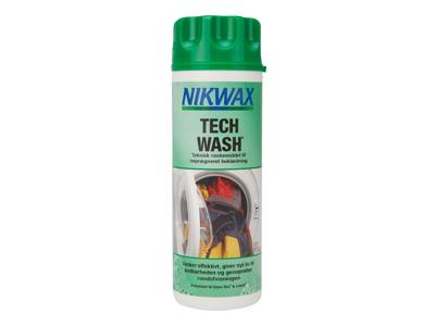 Nikwax Tech-Wash - Tvättmedel till vattentäta kläder - 300 ml