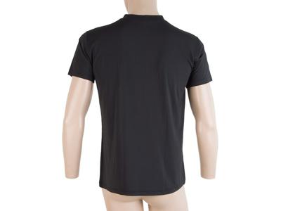 Sensor Coolmax Fresh PT Hand - T-shirt med korta ärmar - Svart