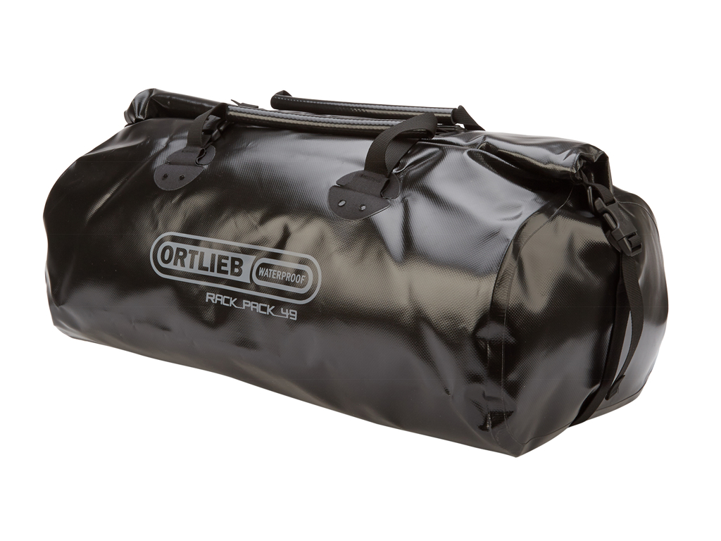 Image of   Ortlieb - Rack-Pack - Sort 49 liter - Rejsetaske