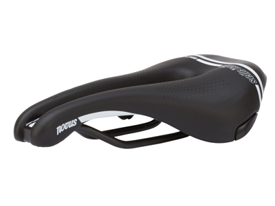 Selle Italia Novus Boost TM Superflow L - Cykelsadel - Sort