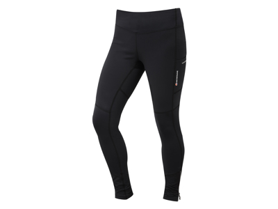 Montane Womens Trail Series Thermal Tights - Løbetights vinter - Dame - Sort - Str. 42