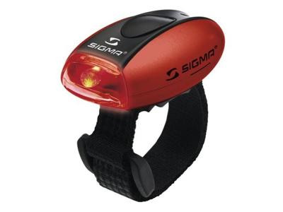 Baglygte Sigma MicroLight II Rød