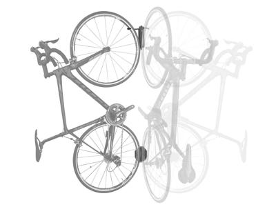 Topeak Swing-Up EX - Sykkelholder - Roterbar veggfeste - Svart
