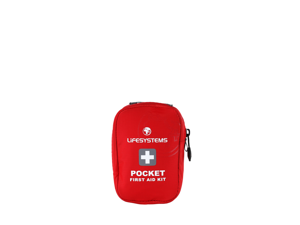 Image of   LifeSystems Pocket First Aid Kit - Førstehjælpskit - Rød